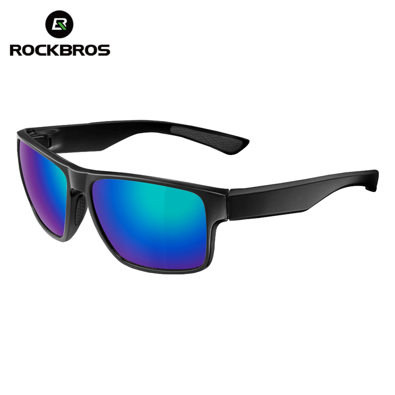 ROCKBROS Men Women Polarized Cycling Sunglasses UV400 Full Frame Glasses Riding Bicycle Driving Outdoor Sports Eyewear Goggle