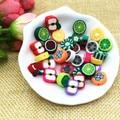 10 mm Mix de Design da fruta Polymer Clay Beads cores sortidas pérola artesanato materiais Manualidades Cuentas y Abalorios