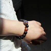 Indonesia S Ethnic Jewelry Wholesale Beads Ebony Nepal Copper Beads Handmade Bracelet E 137