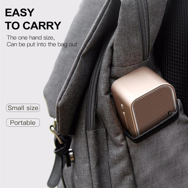 Baseus Bluetooth Speaker Mini Portable Outdoor Wireless 3D stereo Music surround Player