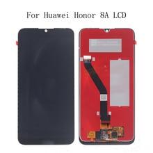 6.01 calowy wyświetlacz LCD dla Huawei Honor 8A JAT L29 wyświetlacz LCD ekran dotykowy Digitizer zgromadzenie dla Honor 8A Panel dotykowy telefon zestaw naprawczy