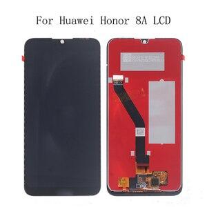 Image 1 - 6.01 inch lcd para huawei honor 8a JAT L29 display lcd tela de toque digitador assembléia para honra 8a kit de reparo do telefone painel de toque