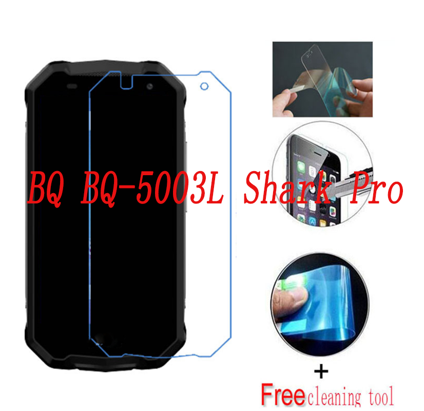2PCS Ultrathin Nano-proof Membrane Not  Glass Screen Protector For BQ BQ-5003L Shark Pro 5003L  Smartphone Film (NOT GLASS)