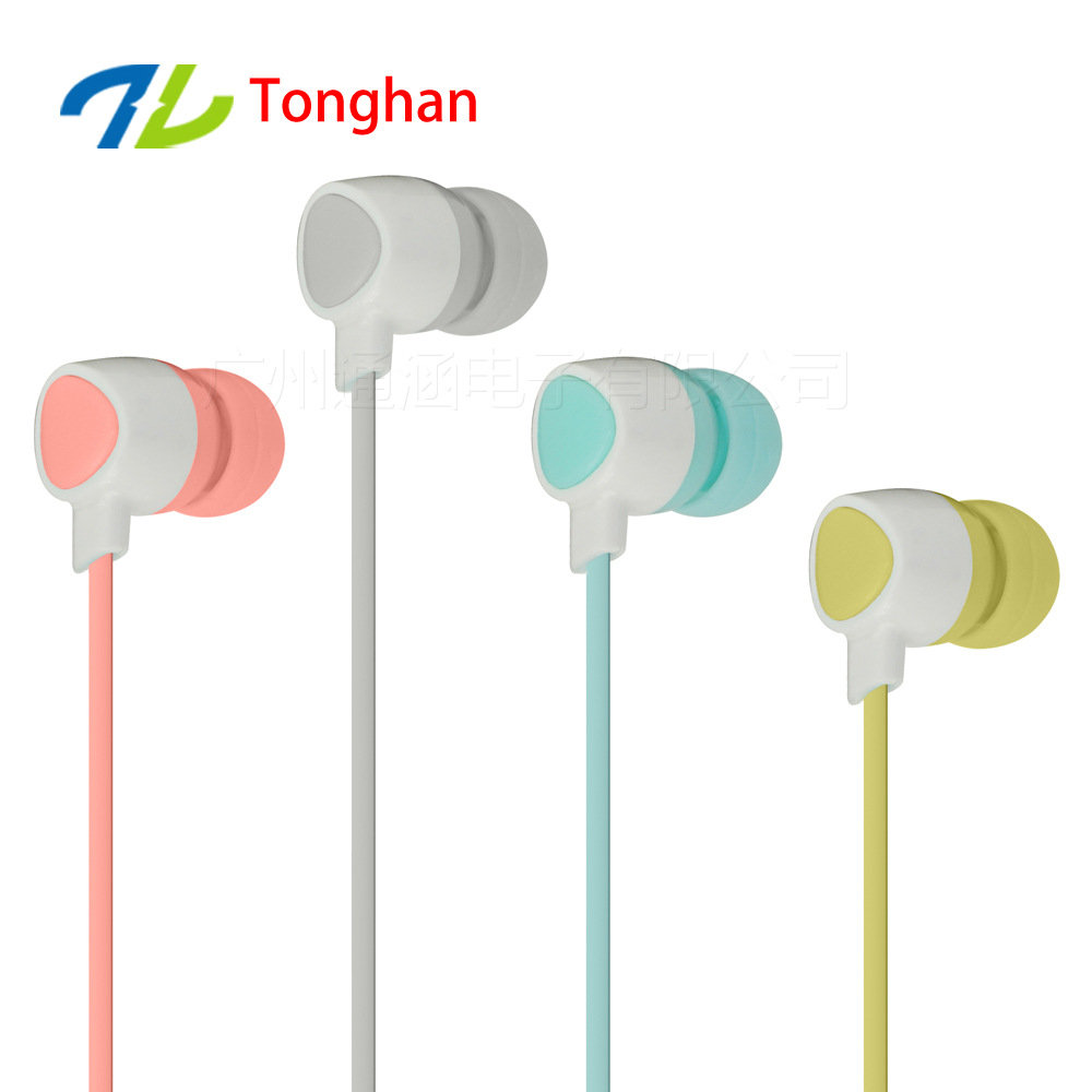 WD13 3.5mm Earphones Headsets Stereo Earbuds For mobile phone MP3 MP4 For PC