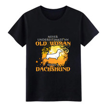 dachshund t shirt men Knitted Short Sleeve Standard Famous Building summer Pattern tshirt(China)