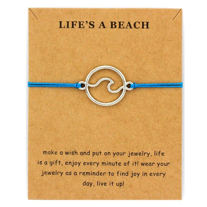 Beachin Bracelet Set (Wave or Sea Turtle) 1
