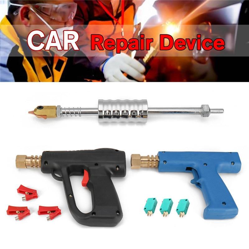 Spot Welding Machine Car Dent Repair Tool Kit Dent Puller Car Body Stud Welding G u n Hammer for Dent Spot Repair Device