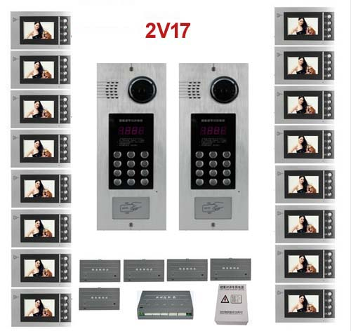 Smart Xinsilu Building Home Security Video Intercom System Video Door Phone Decoder For Home Building Video Doorbell Apartments Access Control Accessories