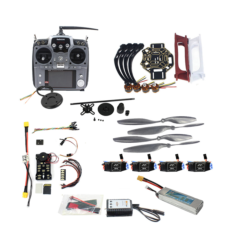 Full Set DIY Drone 4 axis Aircraft Kit HJ 450 Frame PX4 Flight Control 920KV Motor