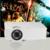 Projetor portátil 3D LED smart video projector para home theater USB 2.0 HDMI AV projetor mini projetor para cinema em casa