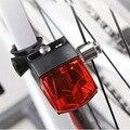 Водонепроницаемый велосипедный светильник s  индукционный задний Предупреждение ющая лампа  магнитный генерирующий электроэнергию задний...