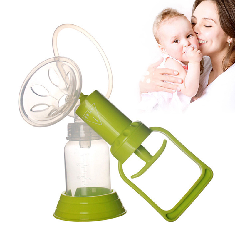 soft and comfortable Manual Breast Pumping Suction Nipple Feed Pump Squeezing Baby Milk 1 Pcs