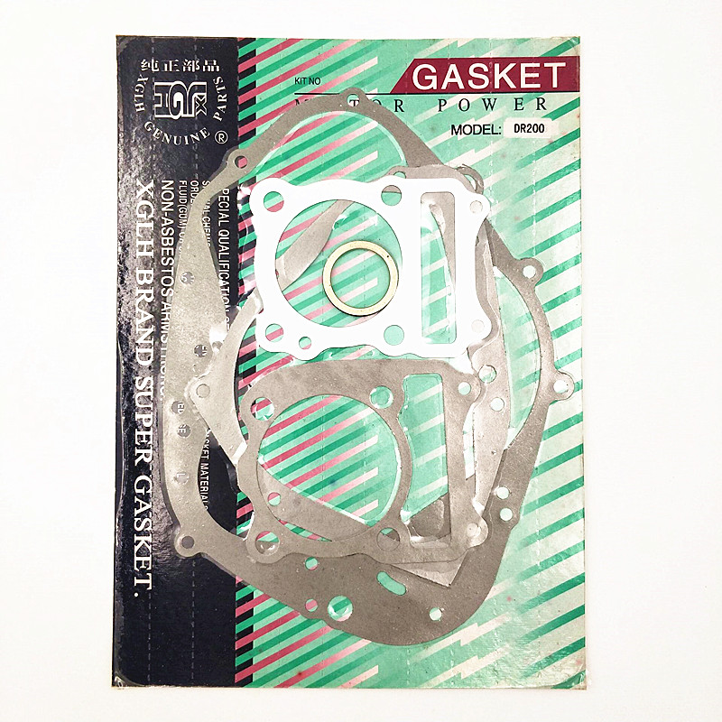 Motorcycle complete full gasket kit Whole mats engine overhaul pads For Suzuki DR200 <font><b>DR</b></font> <font><b>200</b></font> image
