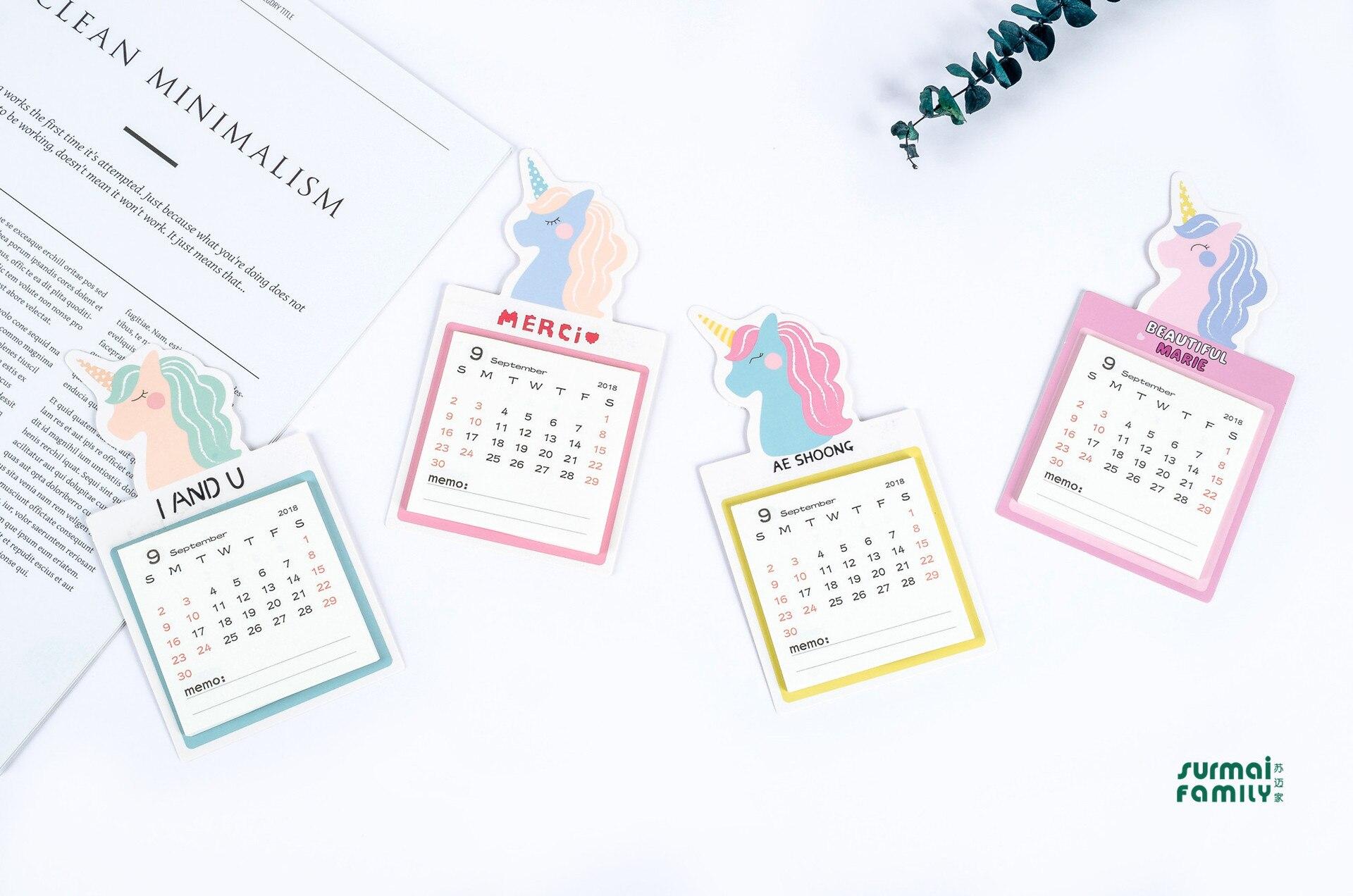 Calendario Diario 2019.Color L Calendario De Escritorio 2019 Diario Planificador De