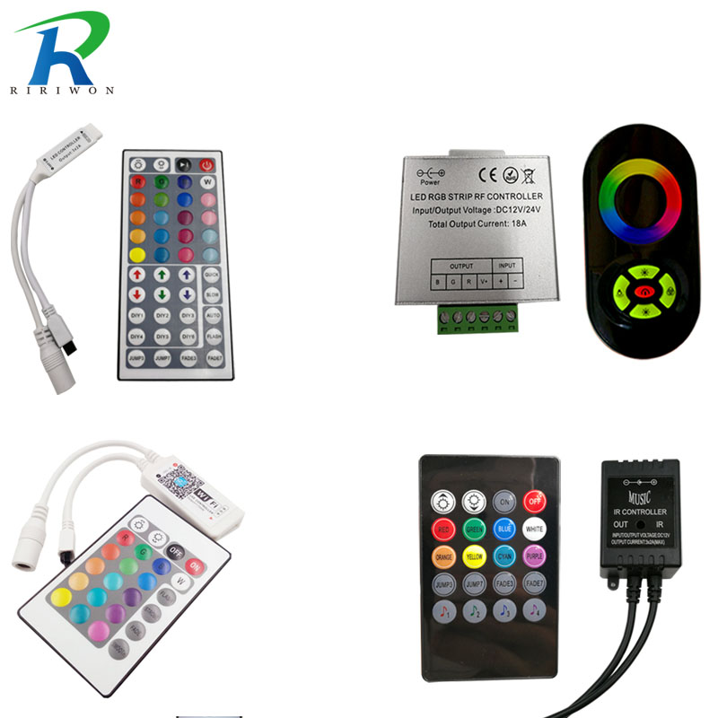 RiRi won SMD RGB LED Remote Controller switch wireless led controller DC 12V For RGB LED Strip Lighting 3528 5050 lamps