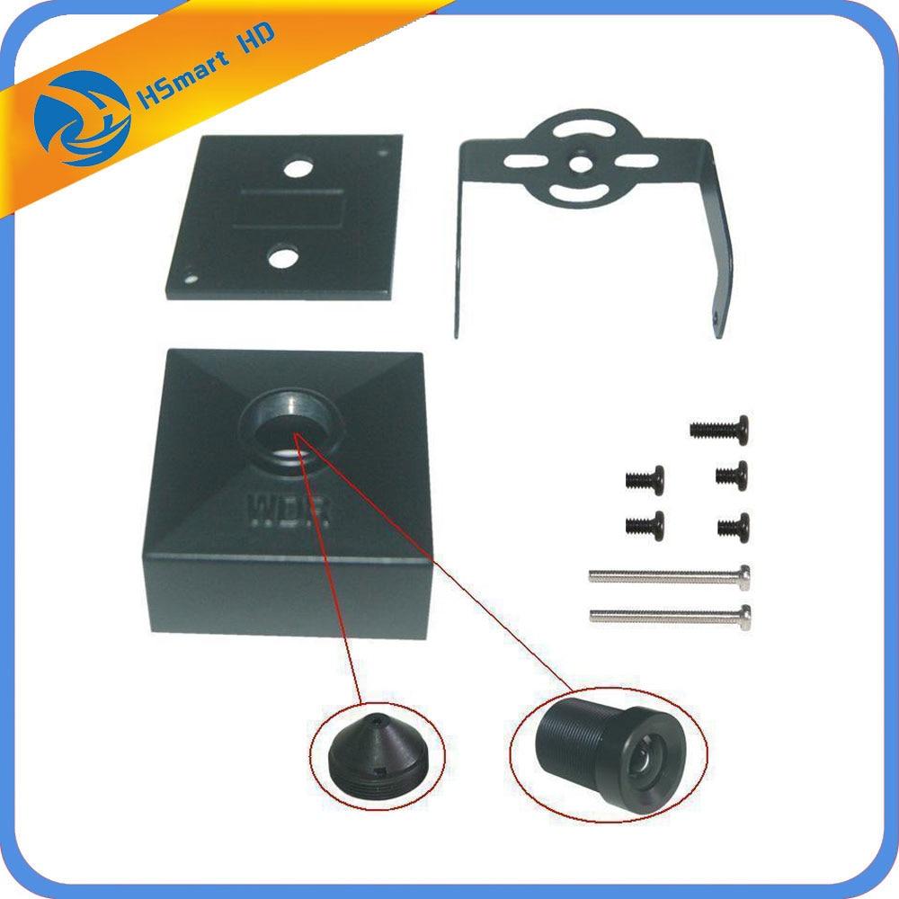 New Hot CCTV Metal Mini Box Camera Housing For Mini AHD TVI CVI 1080P IP WIFI 38X38MM Camera PCB Case (No lens Camera Board)