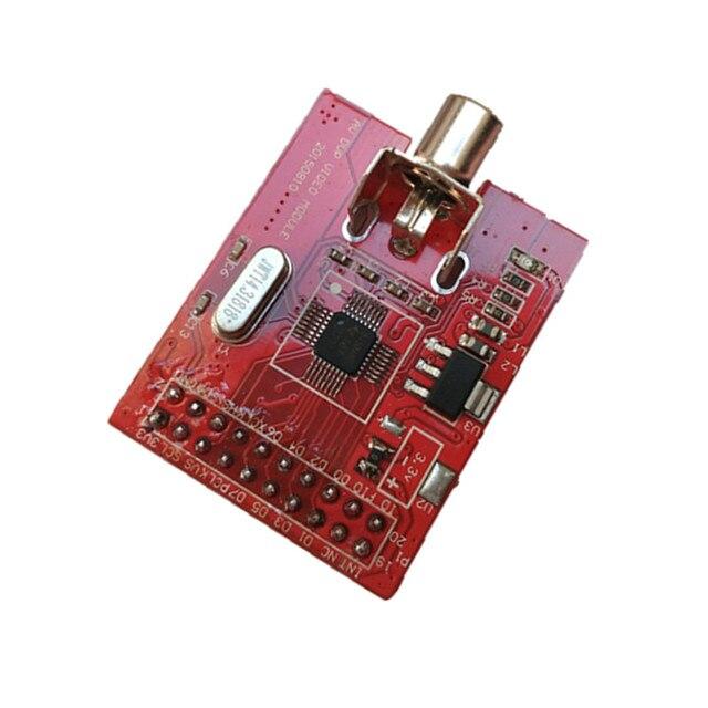 TVP5150 وحدة FPGA SDRAM PAL فيديو فك التناظرية AV المدخلات كاميرا VGA عرض L67