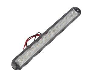 12V Marine Boat LED Strip Light White Plastic Hallway Step Light RV Motorhome Accessories