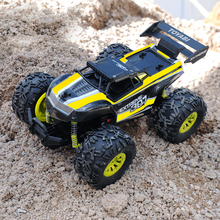 GizmoVine RC Car 2.4G 1/18 Monster Truck Car Remote Control Toys Controller Model Off-Road Vehicle Truck Toy 15KM/H For Kids