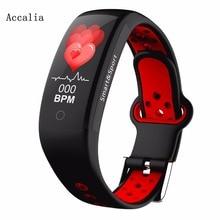 ACCALIA JW58 Smart watch Blood Pressure Heart rate Monitor blood pressure fitness tracker for women men