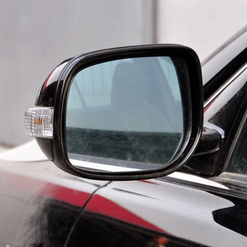 Power Heated Blue Wide Angle Sight Side Rear View Mirror Glasses For