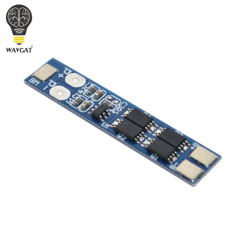 10PCS//LOT 2S Li-ion 18650 Lithium Battery Charger Protection Board 7.4V Overcurrent Overcharge//Overdischarge Protection 4A