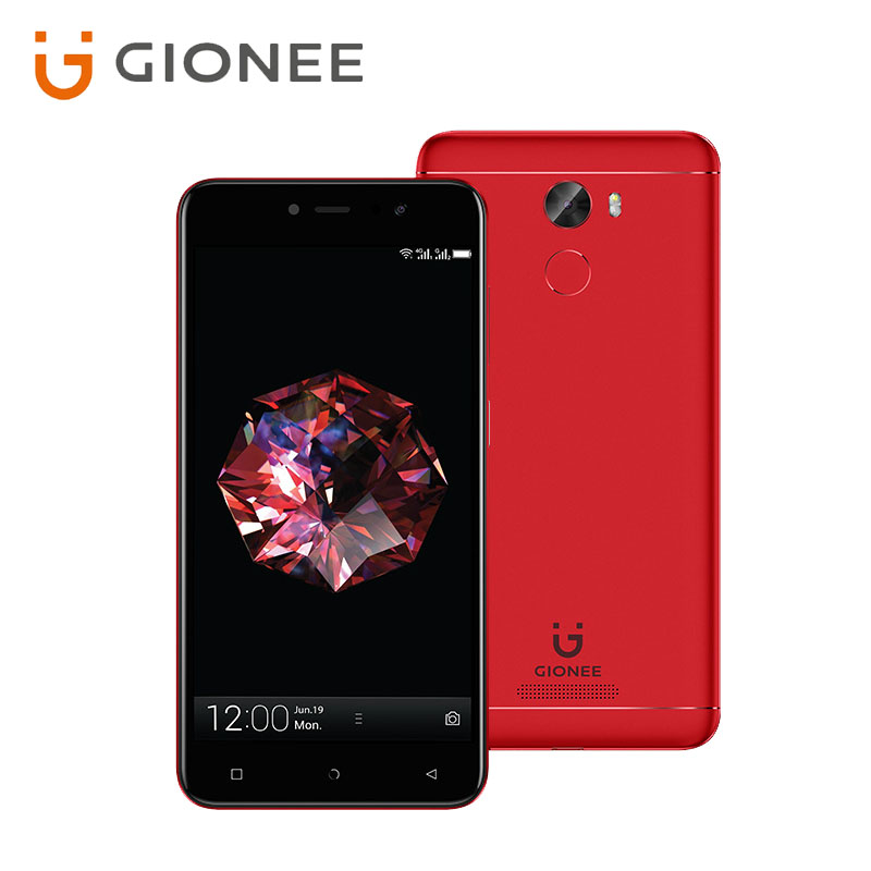 GIONEE A1 LITE Fingerprint MT6753 Octa core 1.3GHz Android7.0 5.3inch HD Front 20MP 4000mAh 3GB ROM 32GB ROM Mobile Phone