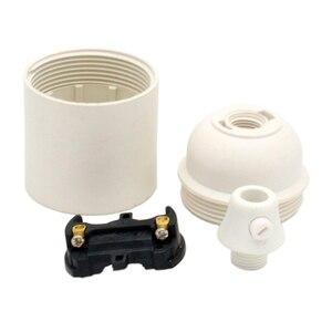 Image 5 - 10 Pieces Per Pack E27 Bakelite Lampholder Plastic Light Socket E27 Scerw Lamp Base Holder