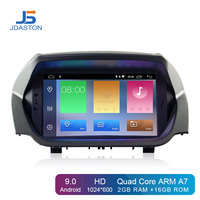 JDASTON Android 9.0 Car DVD Player For Ford ECOSPORT 2013 2014 2015 2016 GPS Navigation Audio Wifi Multimedia Stereo Car Radio
