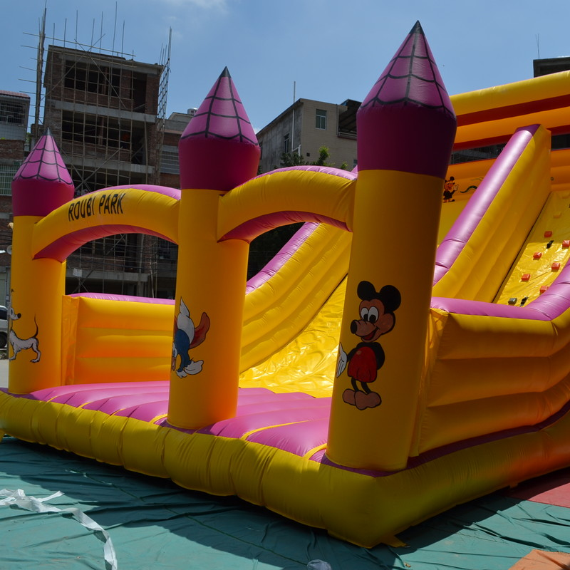Inflatable Theme Park Inflatable Children Toy Inflatable Castle Fun House цена
