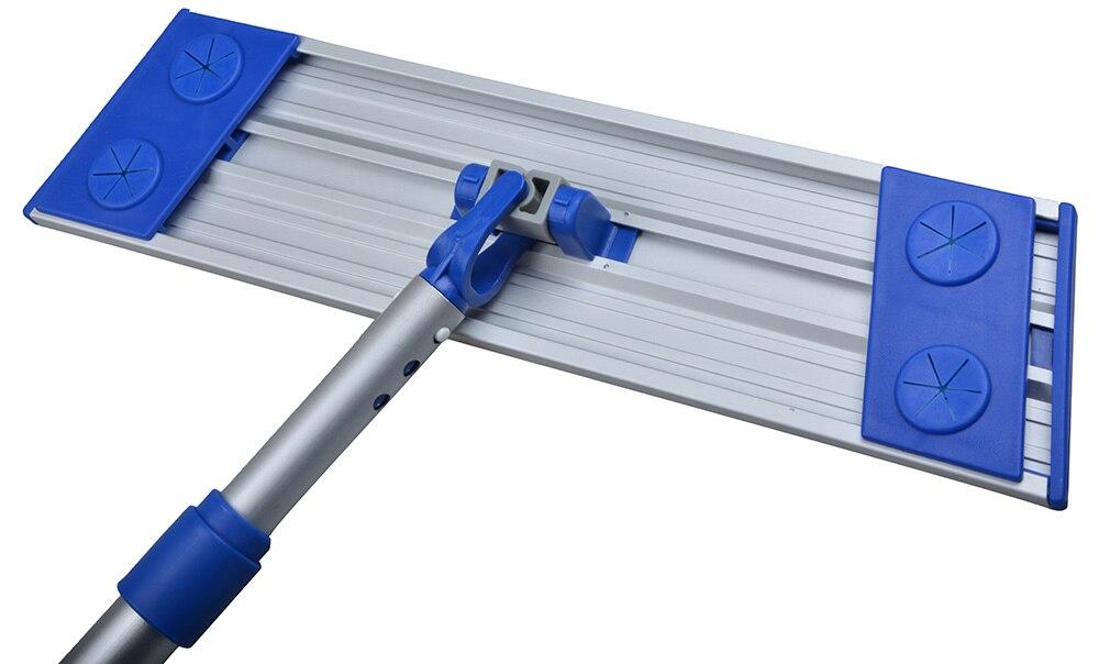 Sinland Mikrofaser Staub Reinigung Mopp Leichte Rotierenden Mop Teleskop Aluminium Griff mit 3 Freies Mikrofaser Mopp Pads-in Mopp aus Heim und Garten bei  Gruppe 2