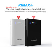 2.5'' Inch To Sata External HDD Case USB3.0 4000mh Power Bank 2TB Reading Capaci Wifi Repeater Wifi extender storage bas