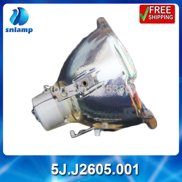 100% original projector bare lamp bulb 5J.J2605.001 for W6000 W6500 цена