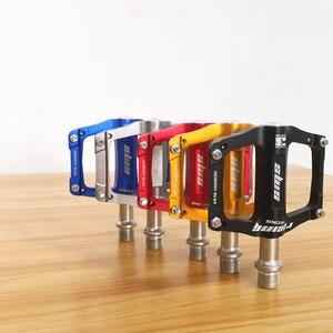 Image 2 - Pédales de vélo ultralégères en alliage daluminium, VTT, pour vtt et route, anodisation, pour Sports de plein air, à 3 roulements