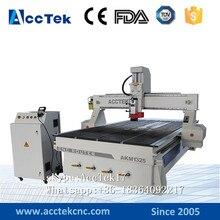 ФОТО Jinan AccTek 1325 cnc router wood machine / 3 axis cnc machine 3d mould  rotary / cnc milling machine