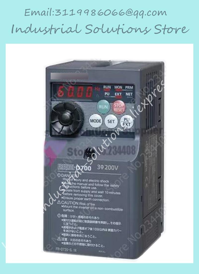 Inverter FR-D720-0.4 K k 220V 0.4kw New Original new original inverter fr a740 15k c9