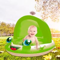 Inflatable Kiddie Pool Sunshade Inflatable Baby Inflatable Pool Kids Toys Play Pool Tub Shachi Ocean Ball Pools Hot Summer Toy
