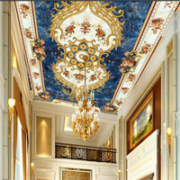 Beibehang Custom 3d Wall Paper HD Stone European Style Ceiling Murals Sofa Living Room Dining Room