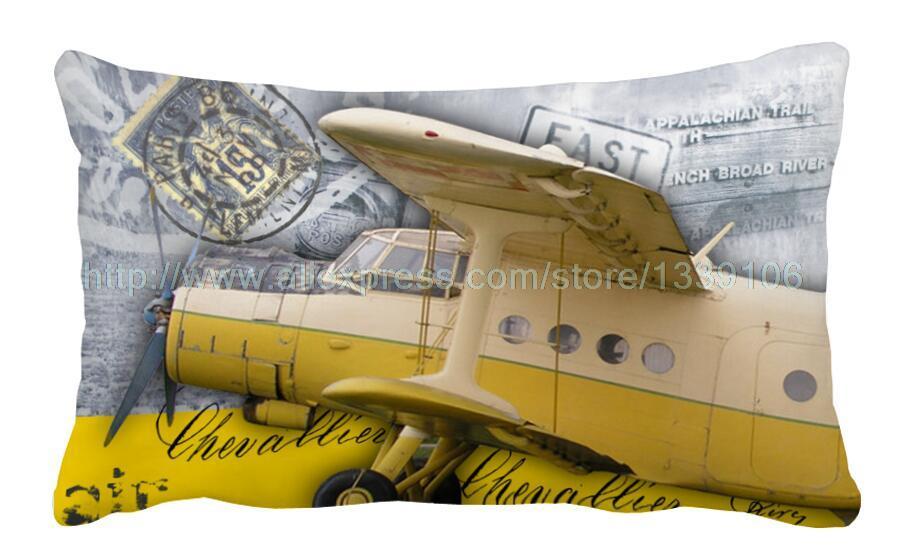 Nordic Cartoon Pillow Vintage Car Sofa Pillow Cushion Motorbike Classy Airplane Decorative Pillow