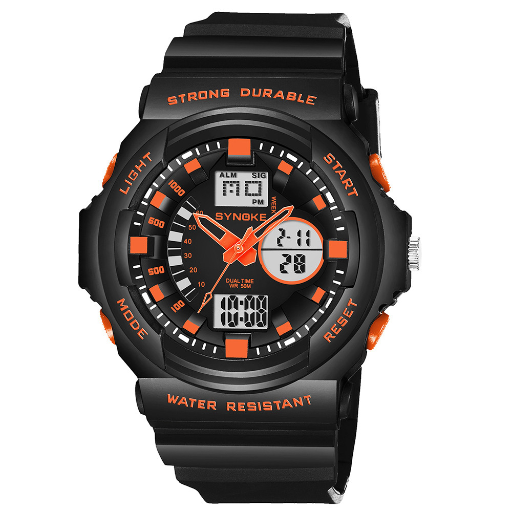 New Mens Sports Watches Brand Outdoor Digital Watch Hours Altimeter Countdown Pressure Compass Thermometer Men Wrist Watch