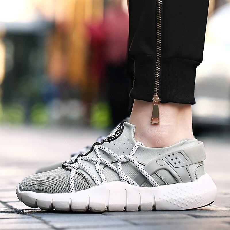 Fashion Men s Casual Shoes 2016 Breathable Fashion Outdoors font b Women b font Men Lace