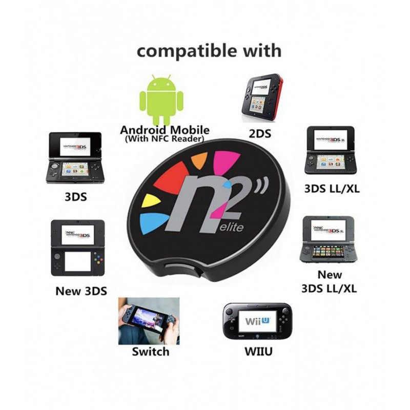 N2 Elite Emulator NFC Reader All in 1 Ntag215 For AMIIBO NEW