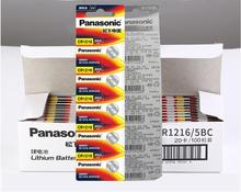 200pcs/lot New Original Battery For Panasonic CR1216 ECR1216 DL1216 BR1216 LM1216 CR 1216 3V Li-ion Button Coin Cell Batteries