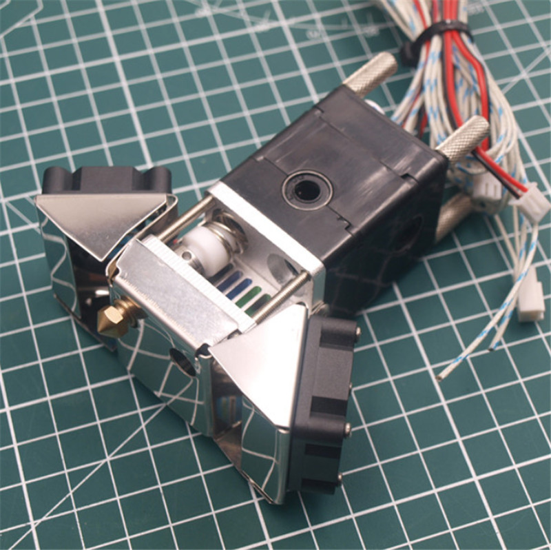 Ultimaker 2 Extended 3D Printer extrusion kit with Olsson Block Nozzle 1 75 3mm Hotend print
