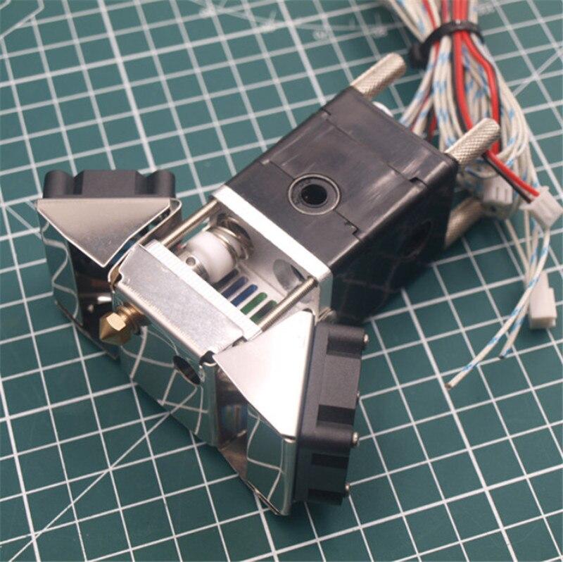 Ultimaker 2 + Estendida 3D Bloco Do Bico de extrusão de Impressora kit com Olsson 1.75/3mm Hotend Cabeça de impressão