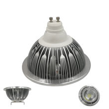 Free shipping 15W GU10 LED Spotlight 12W ar111 led bulb 10W G53 spot light 12V AC85-265V AR 111 led light 7W for home lighting