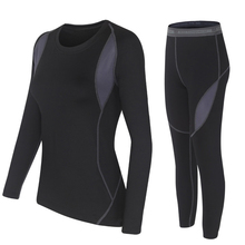 Thermal Winter Clothes Two Piece Set Women Hot Dry Technology Surface Thermo Women Set Tops and Pants Sets Conjuntos De Mujer