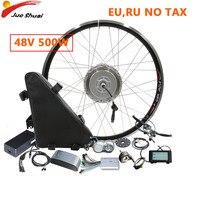 BAFANG Electric Motor Kit 48V 500W Front BPM Motor Wheel Electric Bike Conversion Kit 8fun Ebike E bike 26AH Bicicleta Eletrica