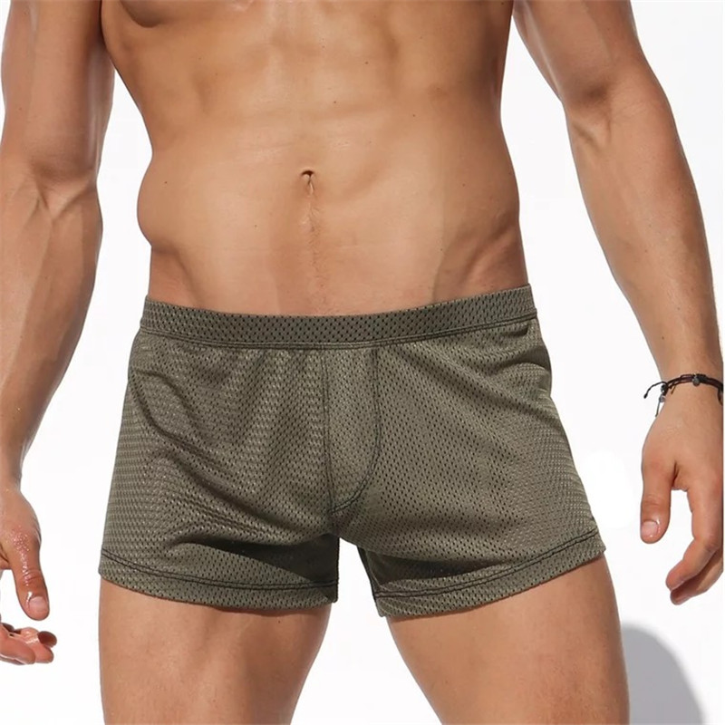 Men's Sexy Mesh Comfortable Breathable   Shorts  ,Men's Beach   Short   Pants,Men's   Board     Shorts  ,Men's Quick Dry   Shorts