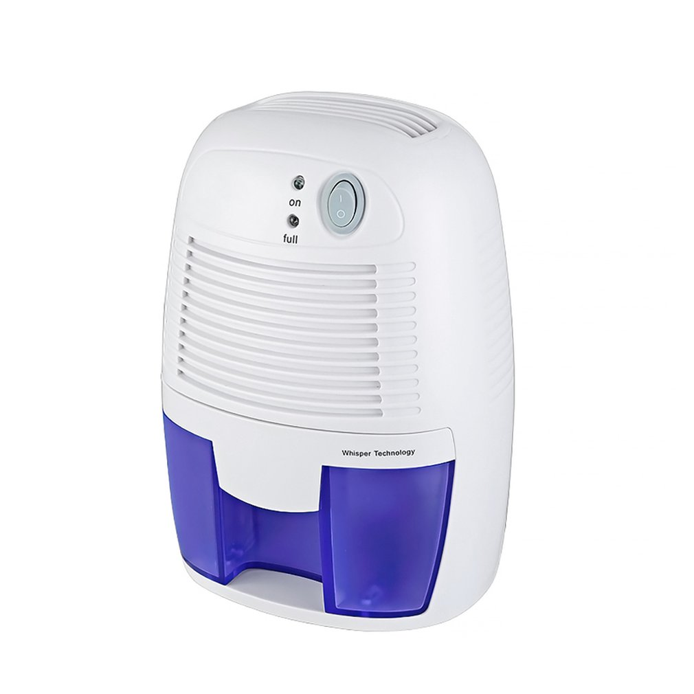 Desumidificador dessecante do armário do desumidificador do absorvente da umidade do secador de ar de casa portátil de 500ml semiconductor mini baixo ruído